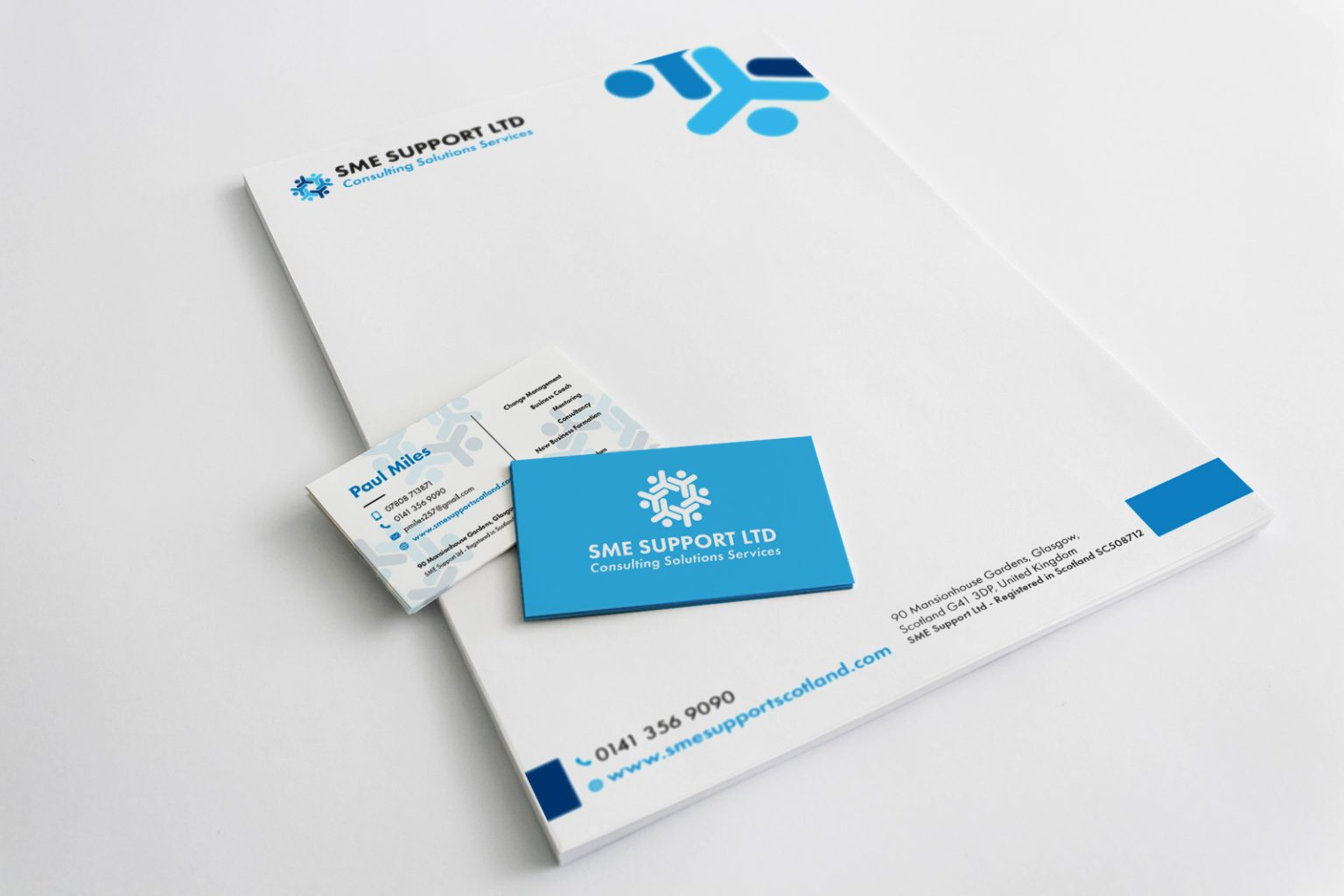 smesupport-letterhead-business-cards - Graphic Design   Web Design ...
